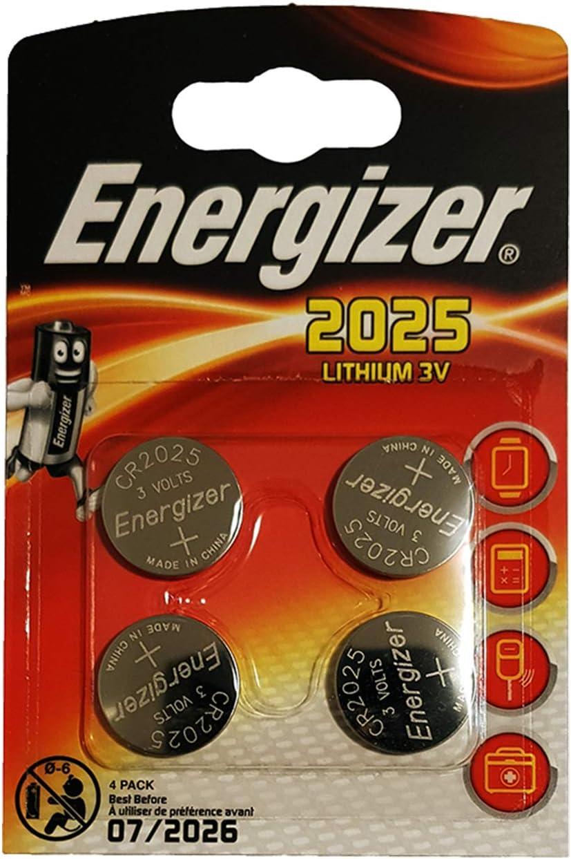 Energizer - Batería No Recargable Lithium 2025, CR2025