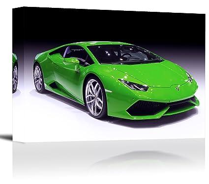Amazon Com Lamborghini Huracan Sports Car Art Print Wall Decor