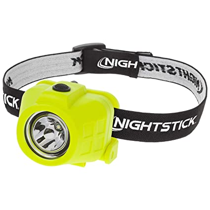 Construction Machinery Green Nightstick XPP-5450G Intrinsically Safe Permissible Dual-Function Headlamp