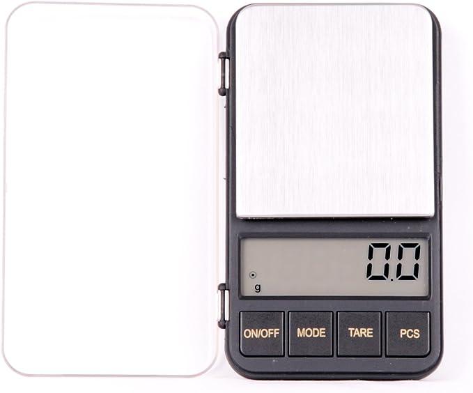 Quantum Abacus balanza digital de precisión profesional / pesacartas / microbalanza / pesillo / balanza de bolsillo 500g/0.1g, Mod. KL-928 500g/0.1 DE: Amazon.es: Hogar