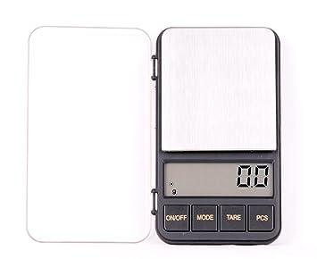Quantum balanza digital de precisión profesional / pesacartas / microbalanza / pesillo / balanza de bolsillo 500g/0.1g, Mod. KL-928 500g/0.1 DE: Amazon.es: ...