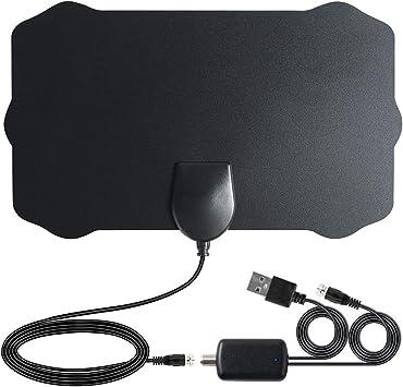 Antena HDTV para TV 4K 1080p Fire TV, Roku, Chromecast, Fire Stick 4K, Canales Locales y