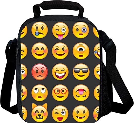 Lunch Bag FORTNITE Insulated School Bag Boys Girls Lunch Box Snack Picnic