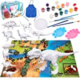 Bikilin's toy Kids Crafts and Arts Set Painting Kit, Dinosaurs Toys Art and Craft Supplies Party Favors for Boys Girls…