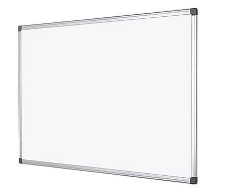 bioffice maya tableau blanc magntique avec cadre en aluminium x cm blanc amazonfr fournitures de. Black Bedroom Furniture Sets. Home Design Ideas