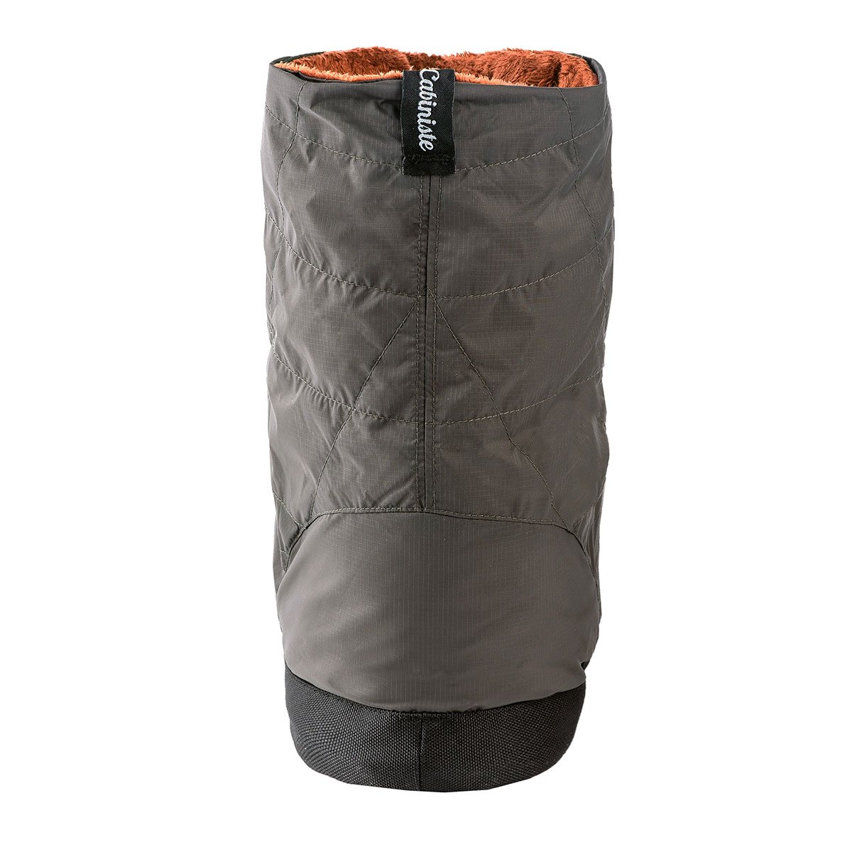Cabiniste Men's Down Insulated Bootie (Medium, Pewter/Copper) by Cabiniste (Image #3)