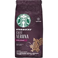 Starbucks Caffè Verona Dark Roast Ground Coffee Bag, 200g