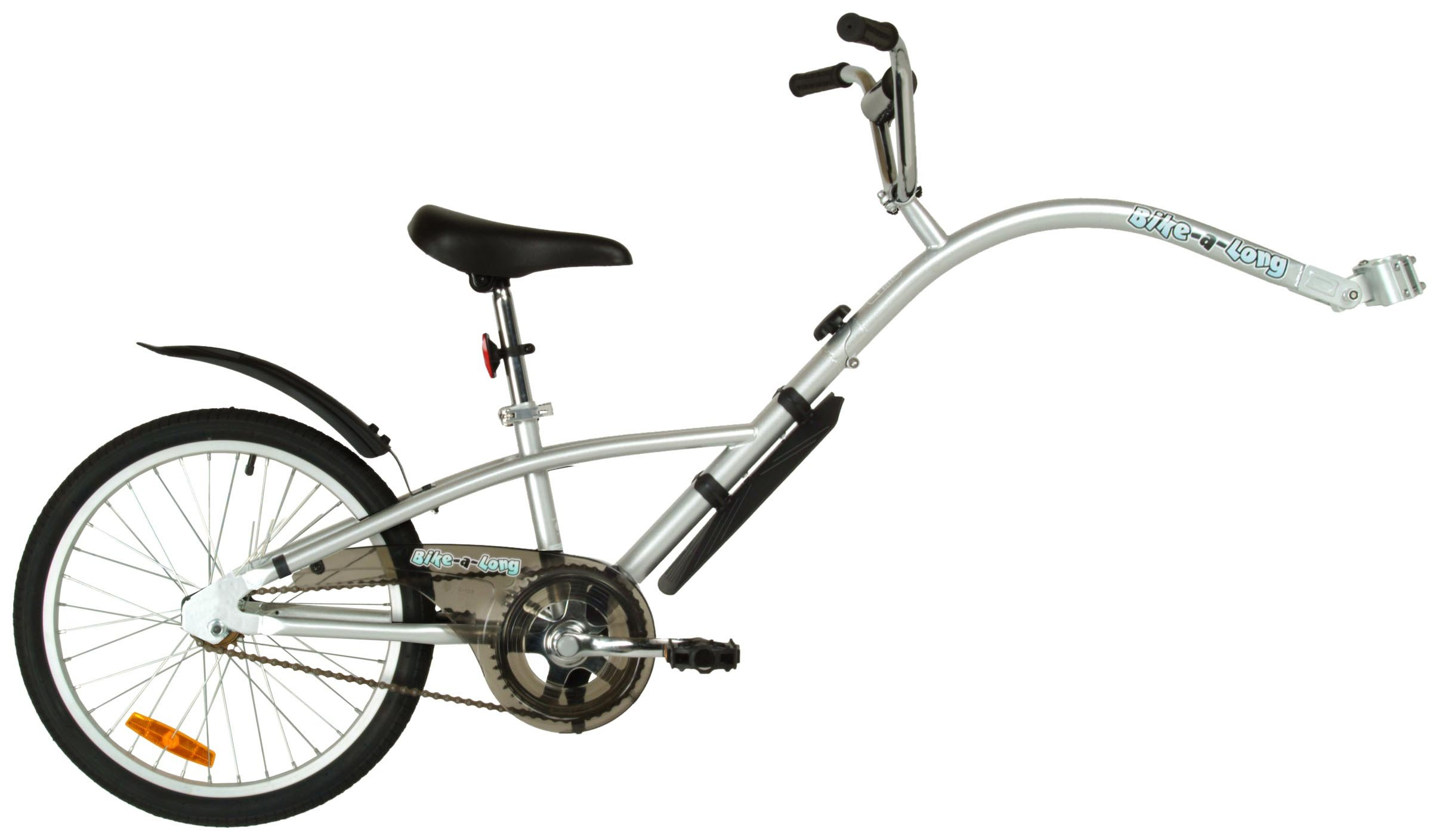 Bike-A-Long Trailer (Silver) by Bike-A-Long
