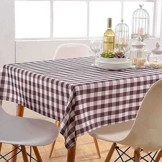 SYT Tablecloths Manteles manteles Mesa de café Mantel Multiusos ...