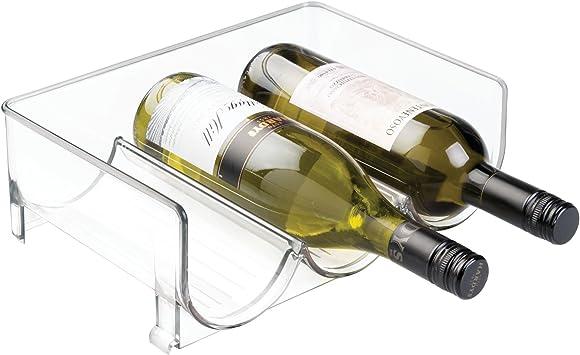 InterDesign Fridge/Freeze Binz Botellero de vino para 3 botellas ...