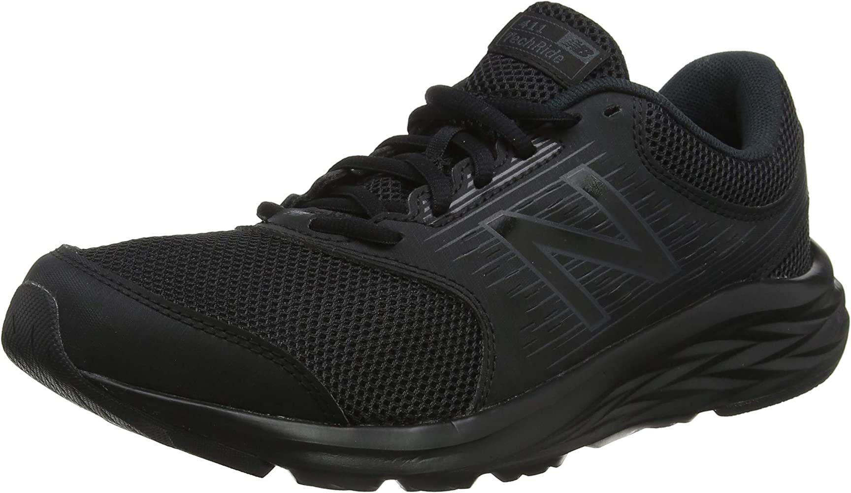 New Balance M411v1, Zapatillas de Running para Hombre, Negro Black ...
