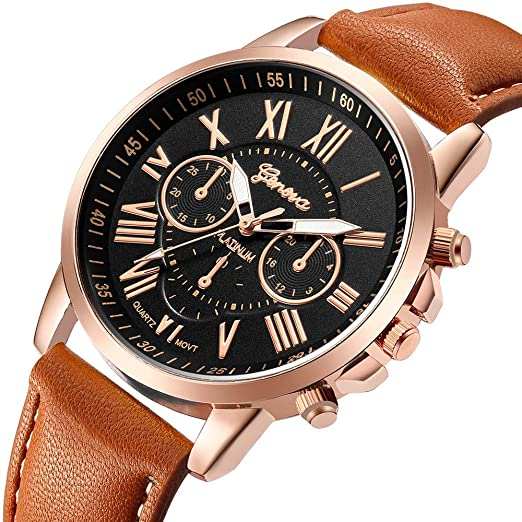 ... Business Watches Stainless Steel Cases Casual Wrist Watches on Sale on Clearance Sport Analog Quartz Watches with Leather Strap Relojes De Hombre