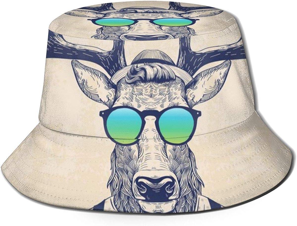 Cool Deer Bucket Hat Summer...