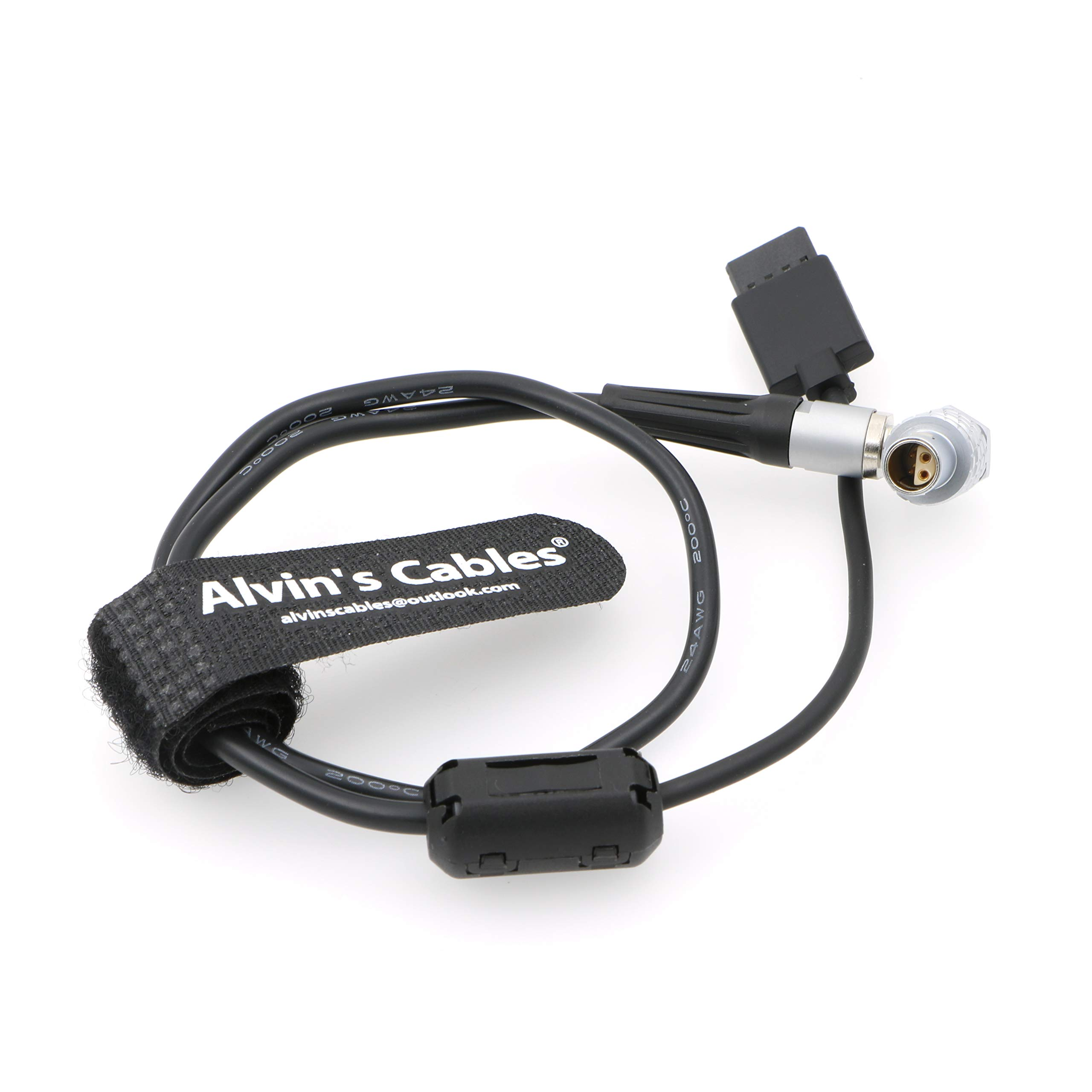 Alvin's Cables Right Angle 4 Pin Z CAM E2 Camera to Ronin S MX Gimble Stabilizer Power Cable by Alvin's Cables