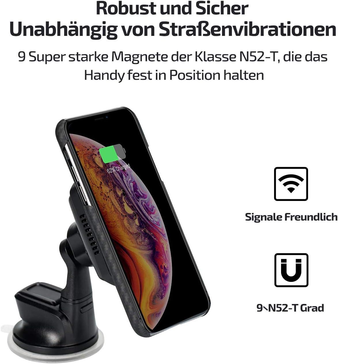 Pitaka Handyhalterung Kfz Auto Kabelloses Laden Elektronik