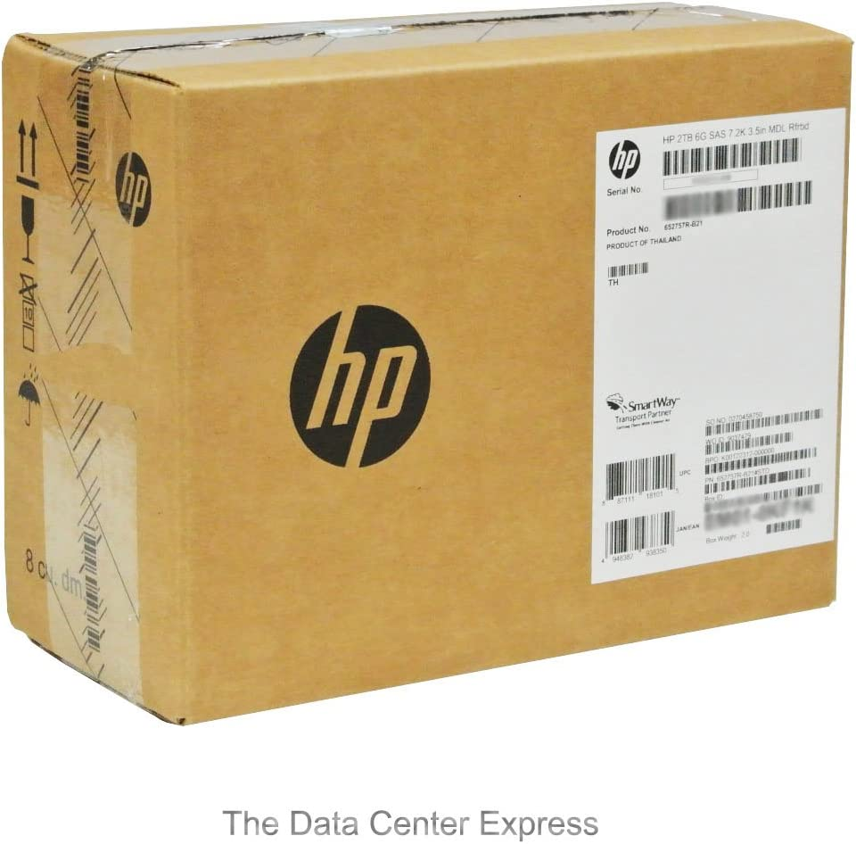 HP 2TB 6G 16 MB Cache 3.5-Inch Internal Bare or OEM Drive 653948-001