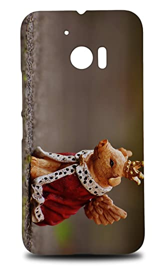 amazon com king pig with wings hard phone case cover for htc 10 rh amazon com T-Mobile HTC Wing HTC Mogul