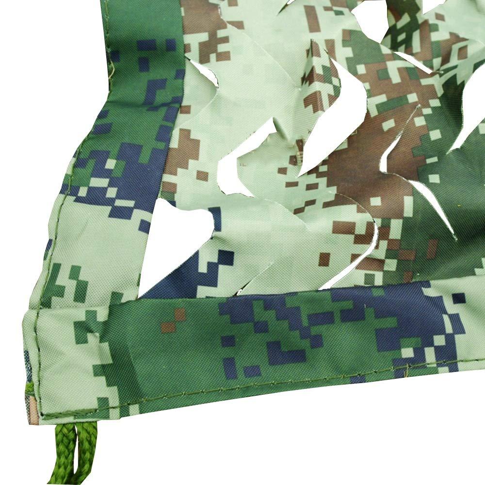 Chunlan 420D Tissu Oxford Filet De Camouflage épaissir Résistant Impression Recto Verso écran Solaire Anti-UV étanche à La Poussière Pare-Soleil (Taille   4X4m)  4X4m