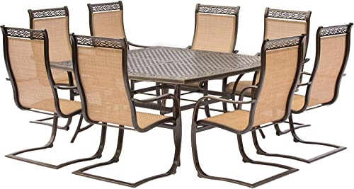 Hanover Manor 9 Piece Outdoor Dining Set