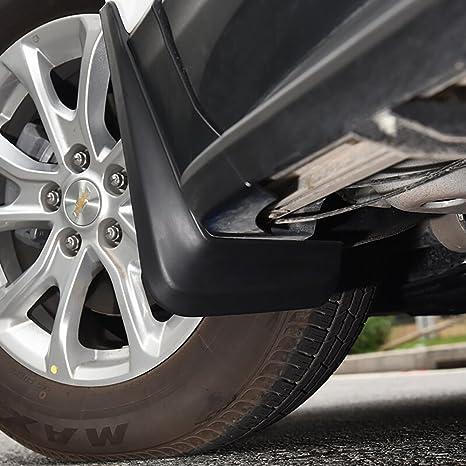 KUST dnb15618 W Equinox coche guardabarros Splash Fender, Chevy Equinox accesorios rueda trasera reflejar la