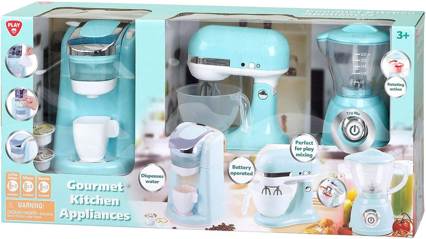 Amazon Com Play Gourmet Kitchen Appliances Toys Games