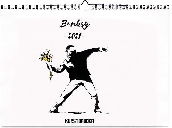 Banksy Calendrier mural 2021 – Calendrier artistique au format