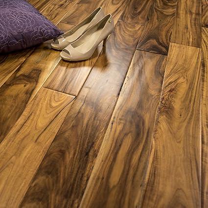 Acacia Hand Scraped Prefinished Engineered Wood Flooring 5 X 1 2