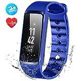 OMorc Fitness Tracker, Weloop Now 2 Bluetooth Herzfrequenz Fitness Armband IP68 Wasserdicht Sport Armband smart bracelet Smartwatch