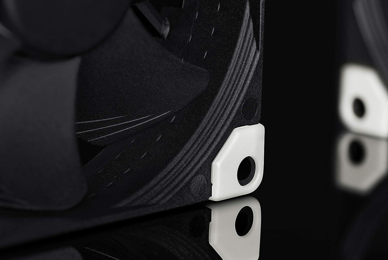 4 Broches Ventilateur Silencieux Haut de Gamme 92 mm, Noir Noctua NF-A9 PWM chromax.Black.Swap