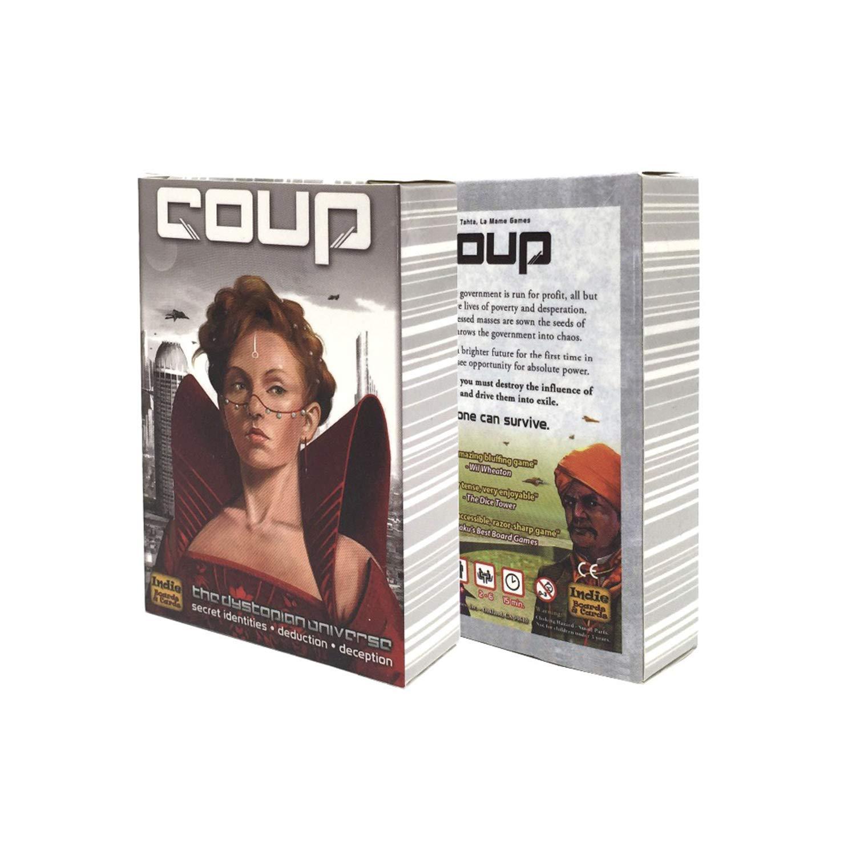 ZWCC Quality Coup Game Party Family Juego De Mesa: Amazon.es: Hogar