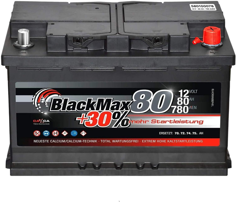 VARTA BLUE dynamic F17 Autobatterie Batterie Starterbatterie 12V 80Ah 740A