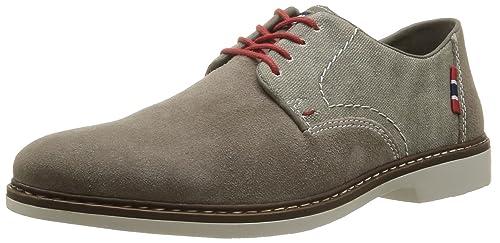 Zapatos grises Rieker para hombre gvtbr6lV
