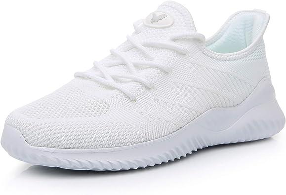 sonriendo comercio realidad  Amazon.com: JARLIF - Zapatillas de tenis para hombre de espuma  viscoelástica ligeras, para gimnasio, correr, atletismo, running US7-12:  Shoes