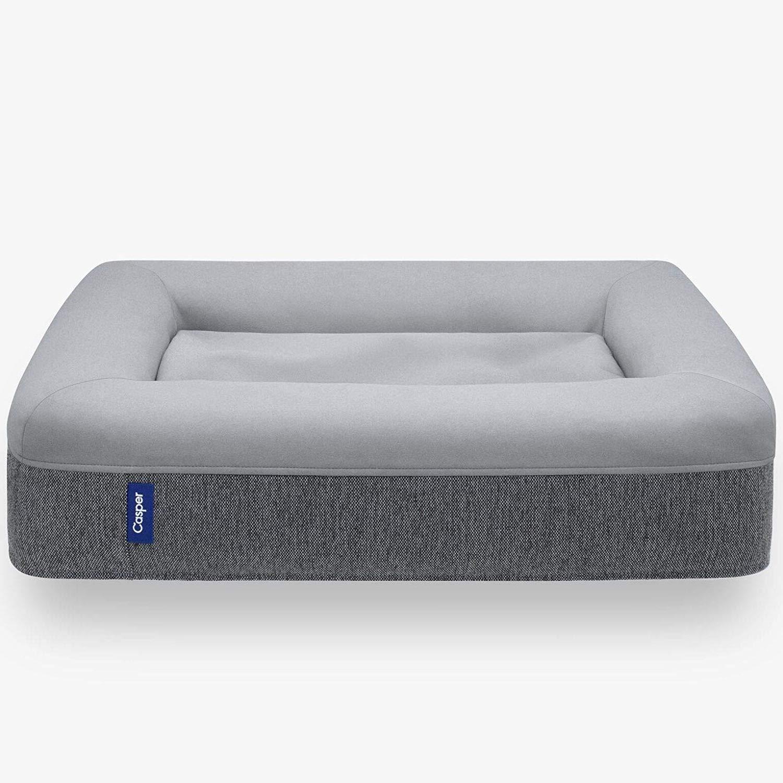 Casper Dog Bed, Plush Memory Foam, Medium, Gray by Casper Sleep