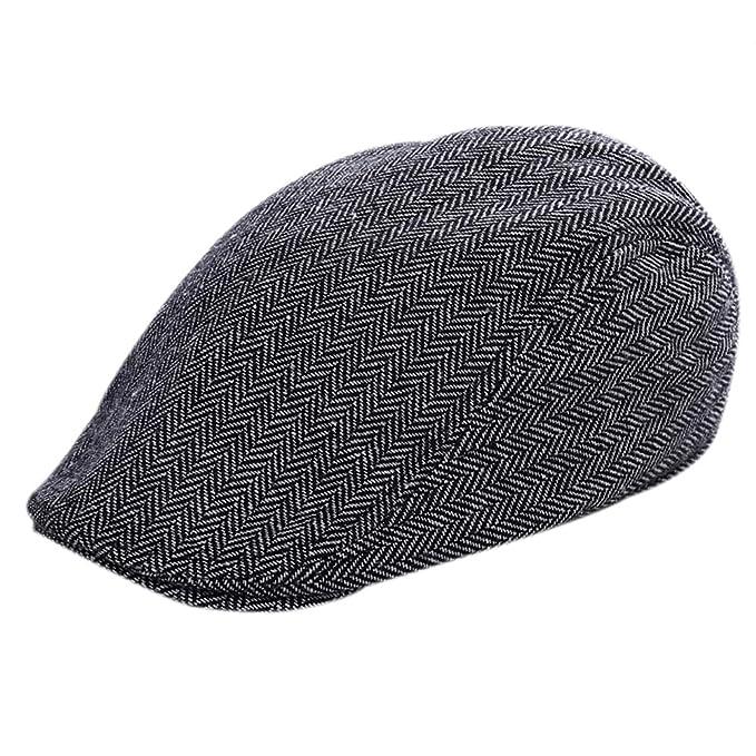 Leisial Mode Herbst Und Winter Herren Hut Kappe Baumwolle Warm