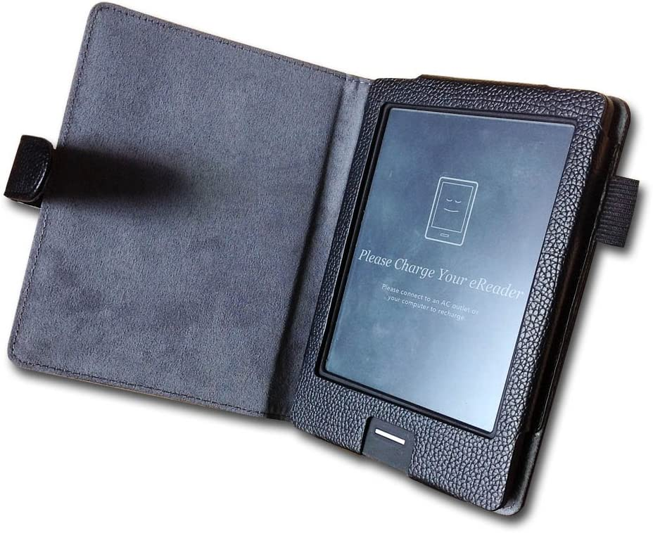 ENJOY-UNIQUE Funda de Piel sintética para Kobo Touch N905 a B C e-Reader 6