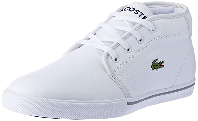 8af940b60c267 Lacoste Men's Ampthill LCR3 SPM Trainers, White