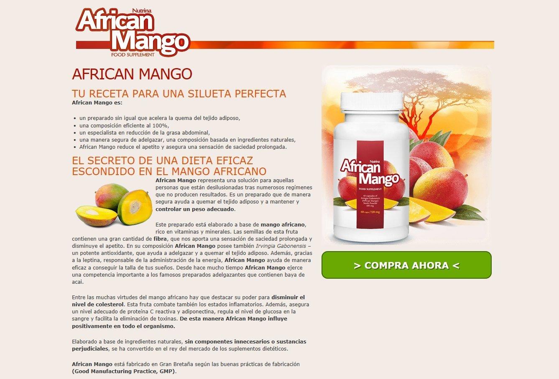✅AFRICAN MANGO Premium - Productos que adelgazan, pérdida de peso sana y desintoxicando, burning gordo eficaz, hornilla gorda, supresor del apetito, ...