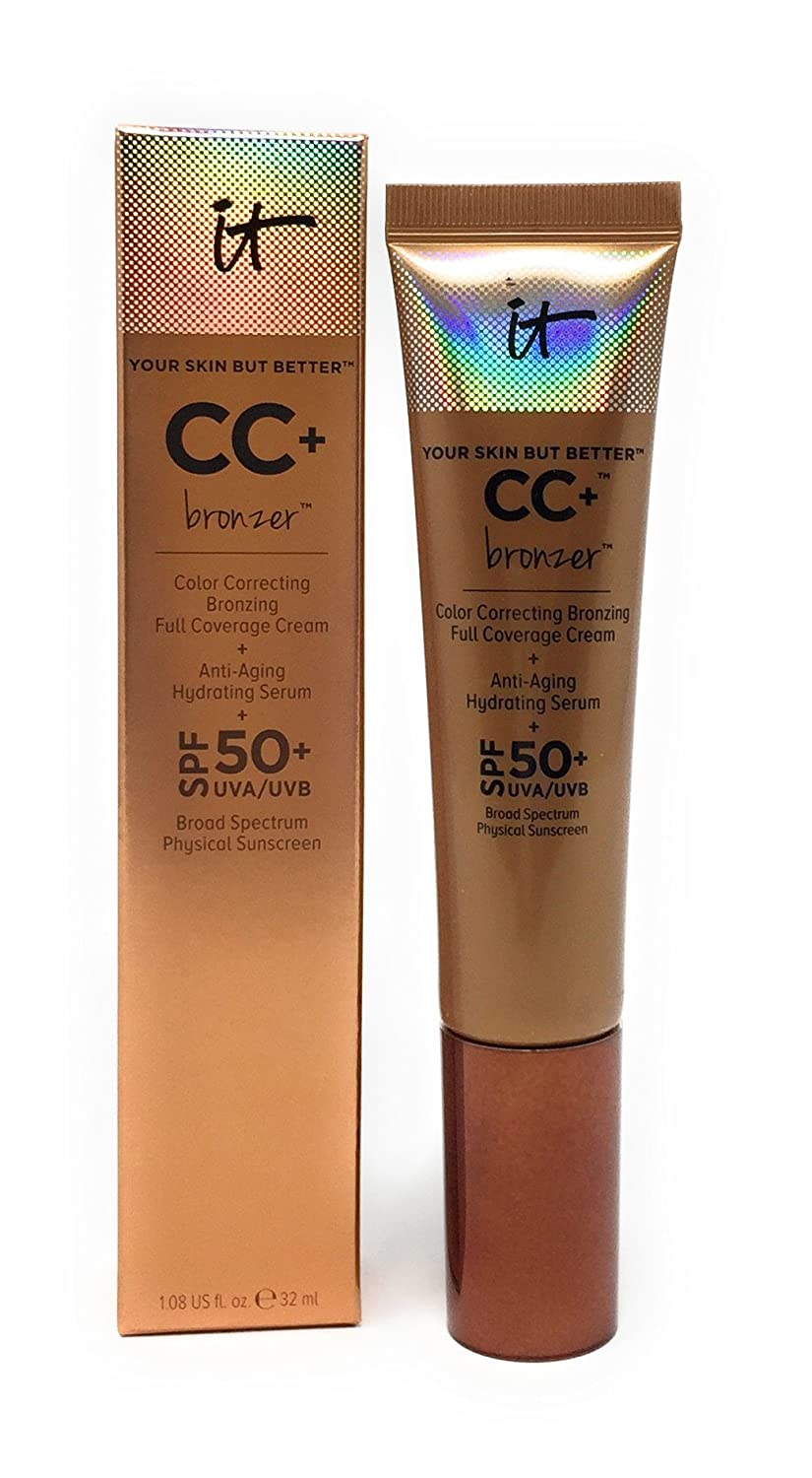 It Cosmetics Your Skin But Better CC+ Cream BRONZER SPF 50+ by It Cosmetics