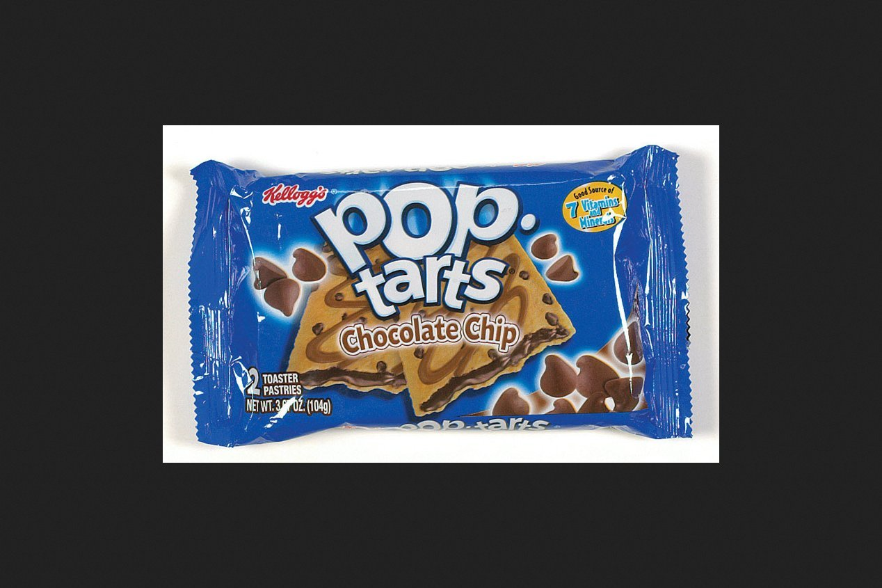 Pop-Tarts Chocolate Chip Toaster Pastries 3.67 oz. Pouch