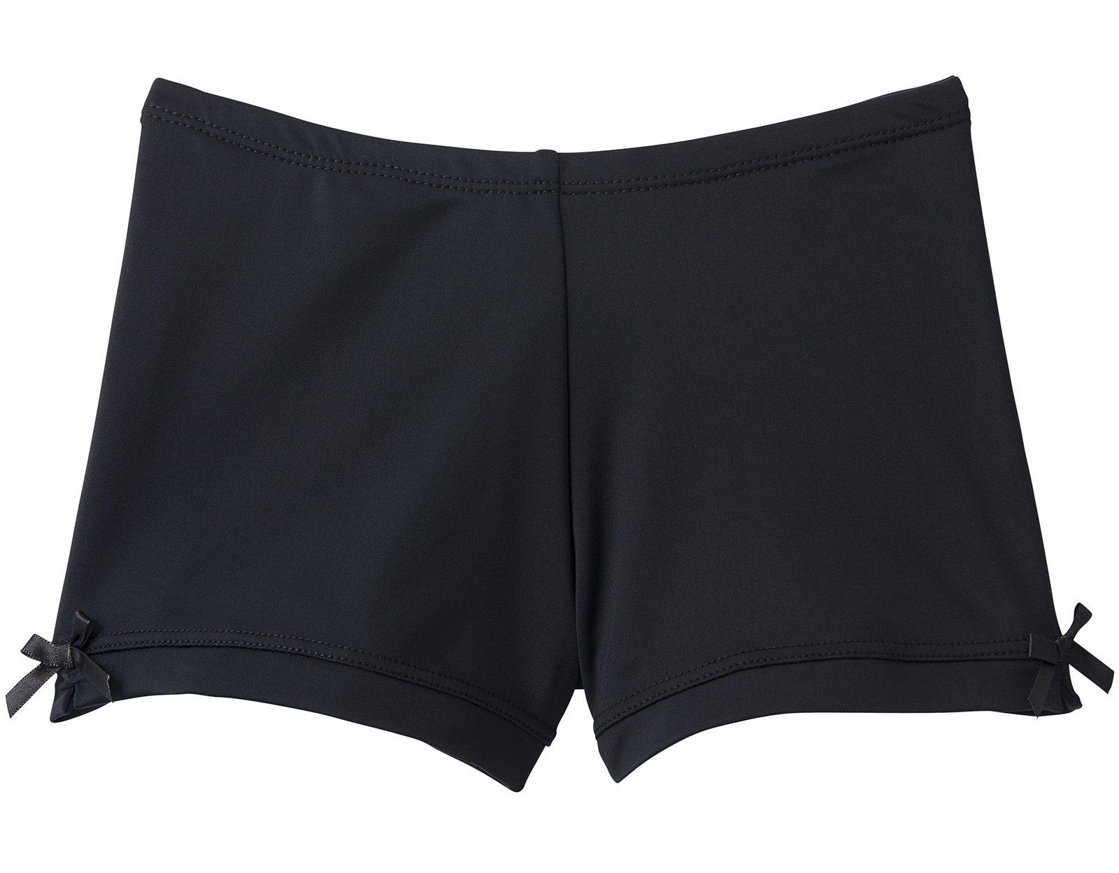 Monkeybar Buddies Little Girls Under Shorts (Black, 16)