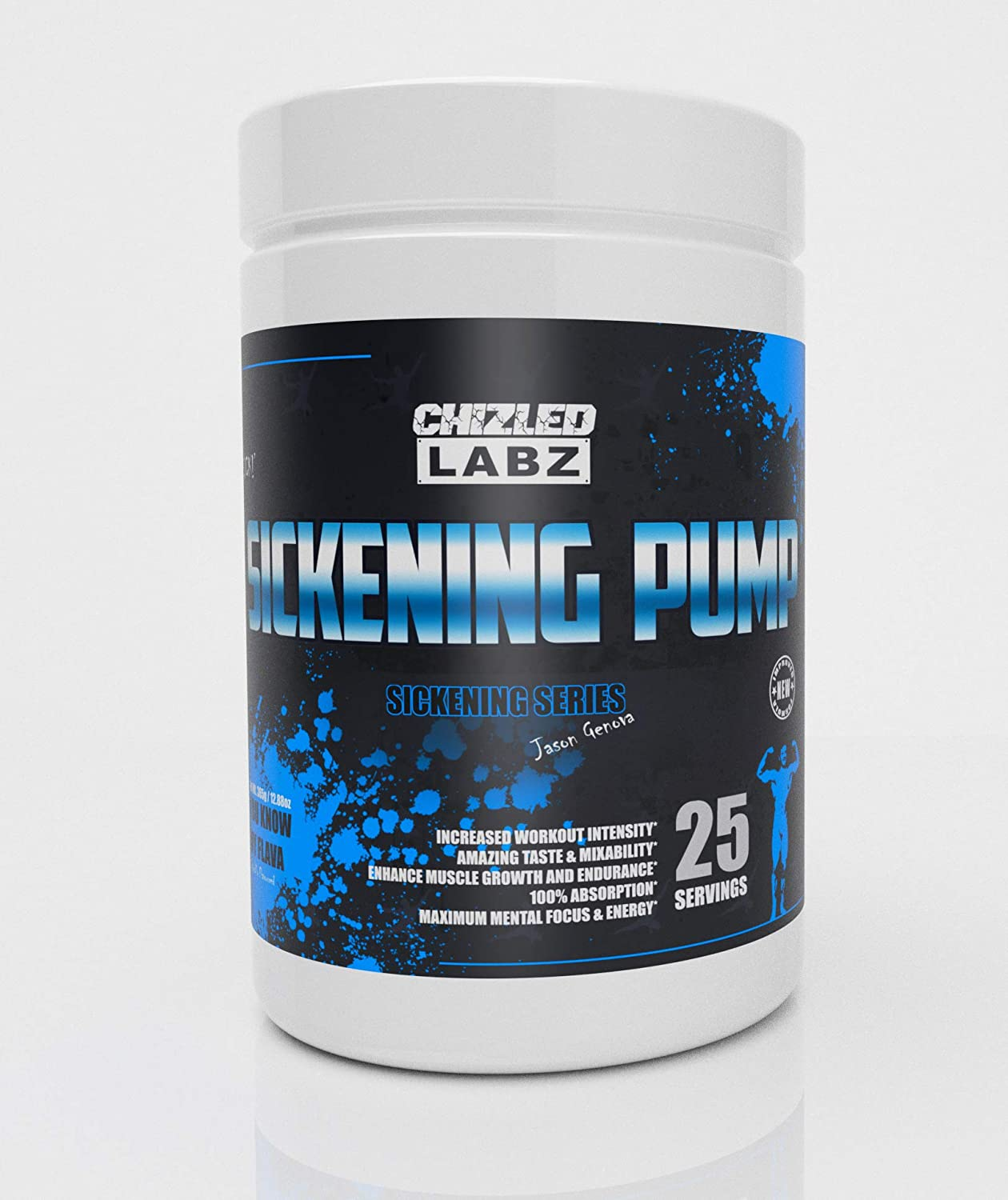 Sickening Pump Preworkout – Focus Energy Reps Massive Pump You Know My Flava – Blueberry Lemonade