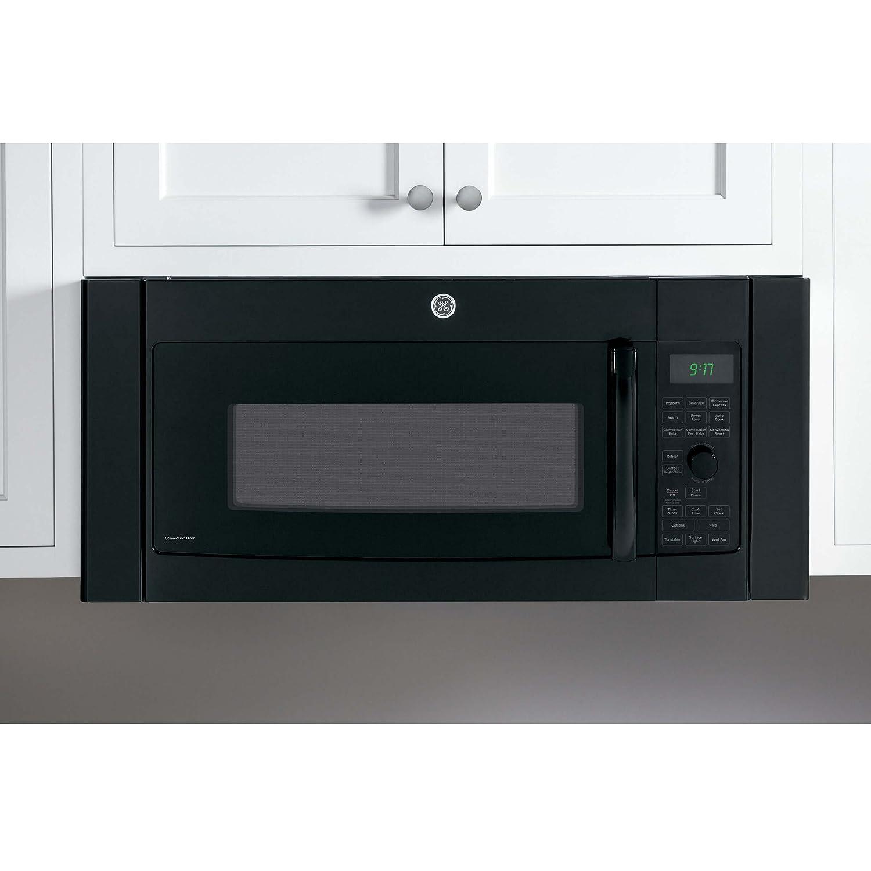 "GE Black 36"" Over-The-Range Microwave Oven Trim Kit"