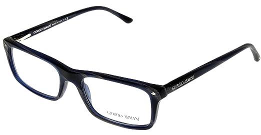 Giorgio Armani Men Eyeglasses Designer Frames of Life Blue/Grey ...