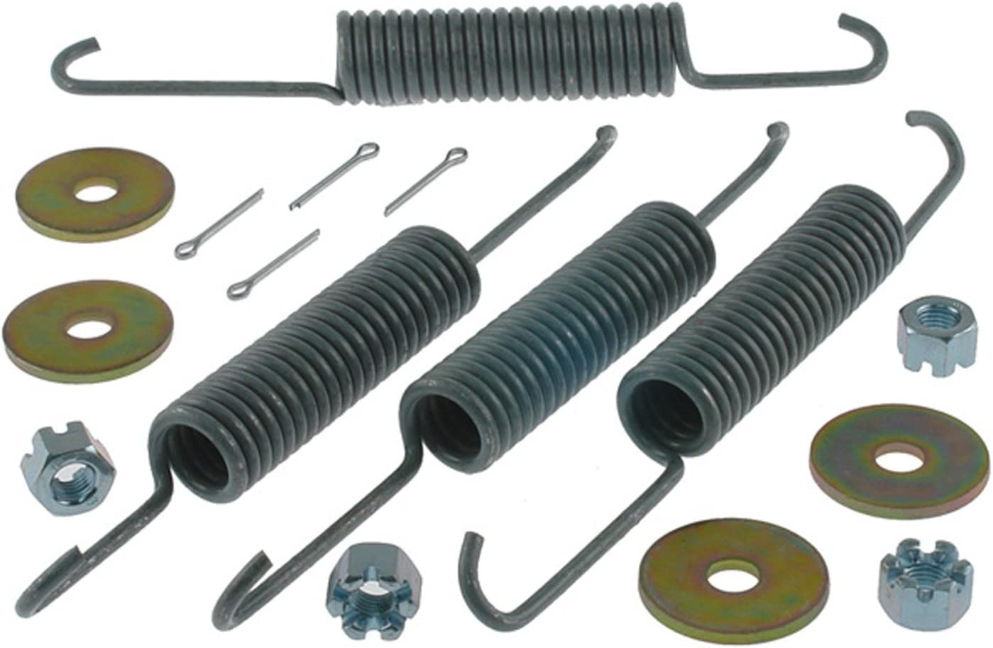Pins and Washers ACDelco 18K1656 Professional Rear Drum Brake Hardware Kit with Springs
