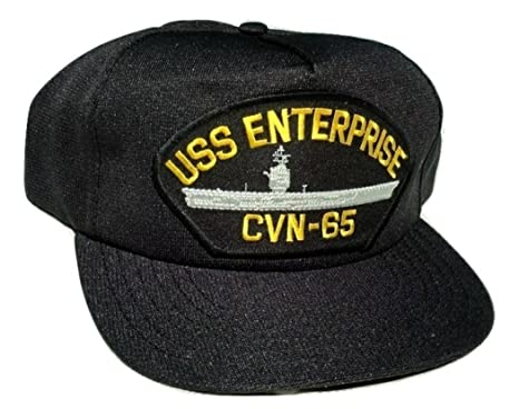 Image Unavailable. Image not available for. Color  HMC US Navy USS  Enterprise CVN-65 Ball Cap bba62f018db1