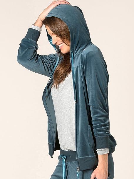 Calida Favourites Trend 5 Lounge de chaqueta, Terciopelo ...