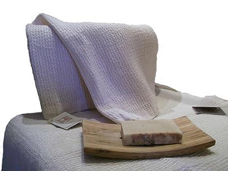 La tesitura de voz a mano - tejido a mano toallas, lino puro - diseño