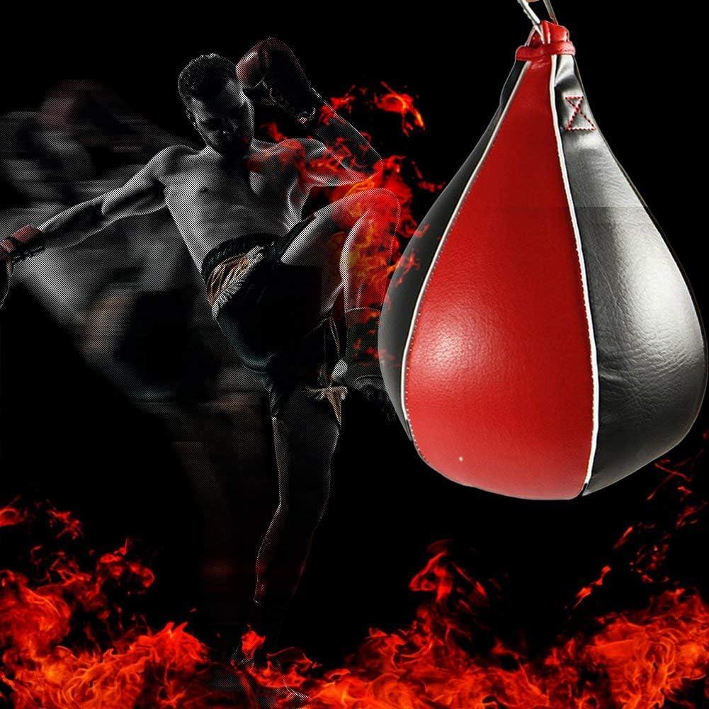 Balle De Boxe Formation en Cuir PU Boxe Sacs de Boxe Fitness Sac de Vitesse pour Dodgeball Workout Fitness Gym Entra/înement de Boxe ruist-eu Punching Ball