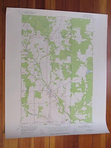 Amazon Com Limestone Maine 1955 Original Vintage Usgs Topo Map